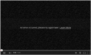 YouTube delivers video with RC4 only